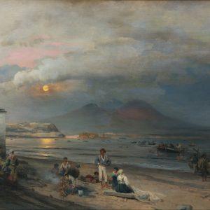 Achenbach, Oswald: Golf von Neapel, 1876von Ne
