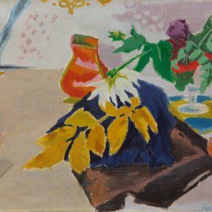 Jules Cavaillès: The yellow leaf