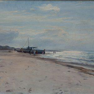 Knud Erik Larsen: Strand von Jütland